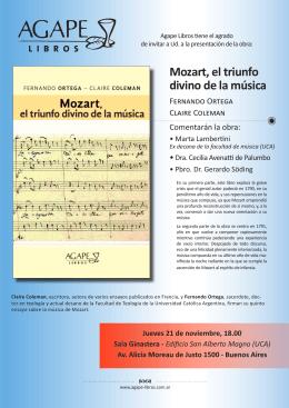 Mozart, el triunfo divino de la música