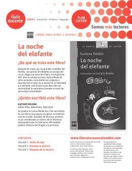 La noche del elefante - Literatura SM Colombia