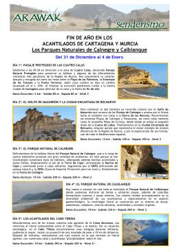 Acantilados de Cartagena y Murcia