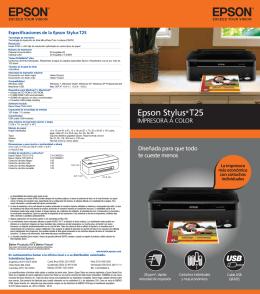 Epson Stylus® T25