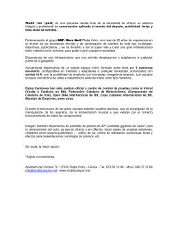 dossier en PDF - Mobilsonsport