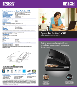 Epson Perfection® V370