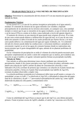 El ion cloruro (Cl-), es uno de los aniones inorgánicos principales