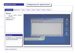 Configuración del HyperTerminal