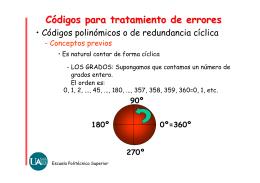 códigos de redundancia cíclica