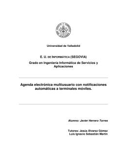 Agenda electrónica multiusuario con notificaciones