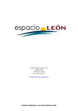 Avda. del País Leonés, nº 12 24010 León Tel. 987