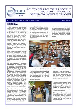 Boletín informativo de Sigüenza.