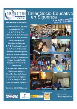Taller Socio Educativo en Sigüenza