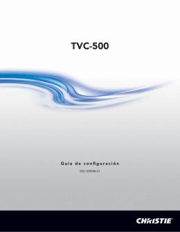 TVC-500 - Christie