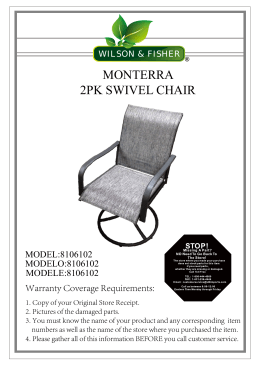 MONTERRA 2PK SWIVEL CHAIR