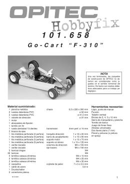 """101.658 Go-Cart """"F-310"""""""
