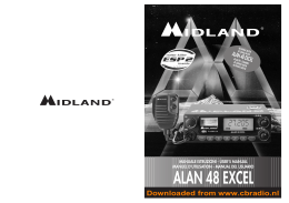 www.cbradio.nl: Manual Midland