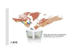 Atlas Voto en el Extranjero