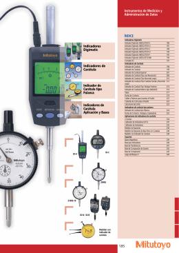 185 Instrumentos de Medición y Administración de