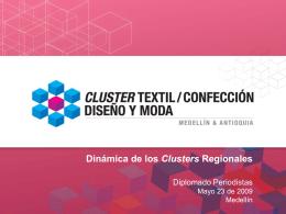 Cluster Textil/Confección, Diseño y Moda