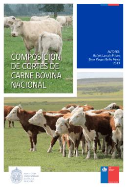 Carne bovina - Facultad de Agronomía e Ingeniería Forestal