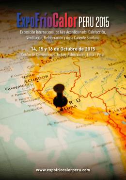 Perú. Exposición Internacional de Aire Aco