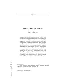 Texto completo - Centro de Estudios Públicos