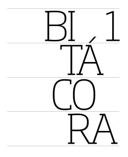 Bitácora 1 - Libro del profesor - Unidad de muestra