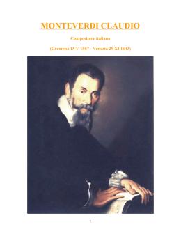 361 - Monteverdi Claudio