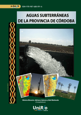 aguas subterráneas de la provincia de córdoba