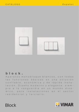 Catálogo Block