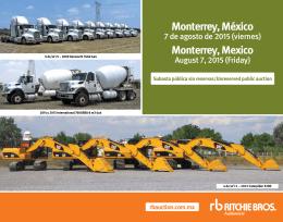 Monterrey, México Monterrey, Mexico