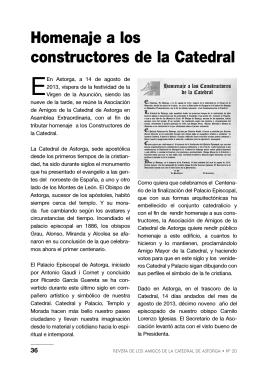 Homenaje a los constructores de la Catedral-2013