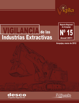 Arequipa: Vigilancia de las Industrias