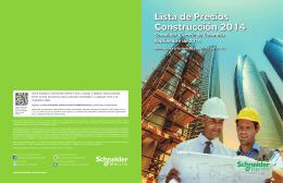 Descargar catálogo de SCHNEIDER ELECTRIC