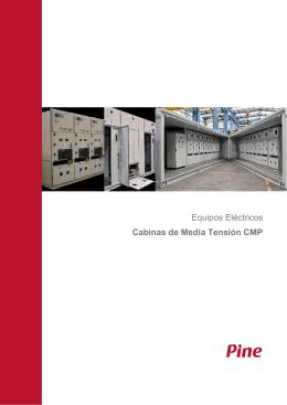Equipos Eléctricos Cabinas de Media Tensión CMP