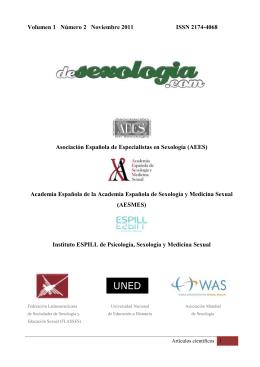 Revista De Sexología - Revista desexologia