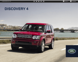 DISCOVERY 4 - Land Rover