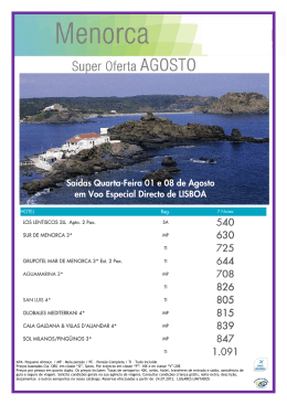 Menorca - Lux Tours