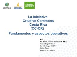 Presentación CC-CR - Cultura Libre Costa Rica