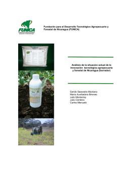 Fundación para el Desarrollo Tecnológico Agropecuario y