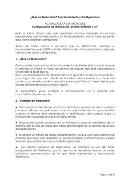 Webcaché de Razorman - Foro MundoDivX & H264
