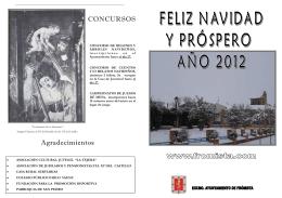 PROGRAMA NAVIDAD FRÓMISTA 2011-12