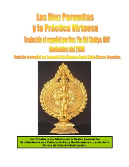 Las Diez Paramitas y la Práctica Virtuosa