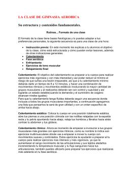 Gimnacia Aerobia - Sitio Oficial del INDER