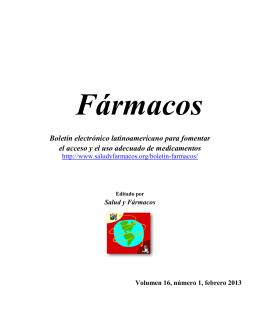 Boletín electrónico latinoamericano para