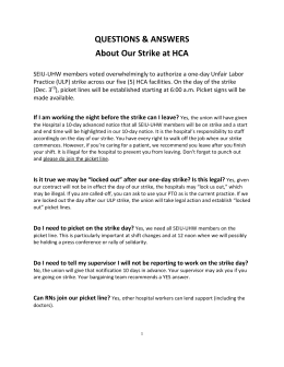 QUESTIONS & ANSWERS About Our Strike at HCA - SEIU-UHW