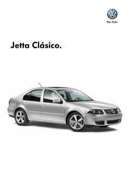 Descarge aquí la ficha técnica del VW Jetta Clásico 2013