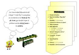 Programa - Talarrubias