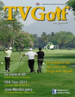 Un vistazo a los diez años del Programa TVGolf