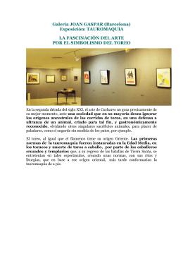 Galeria JOAN GASPAR (Barcelona)