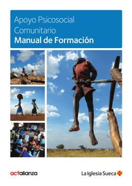 Apoyo Psicosocial Comunitario Manual de Formación