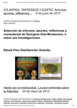 Descargar Libro en PDF - Georgeos Díaz-Montexano