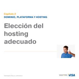 Elección del hosting adecuado descargar